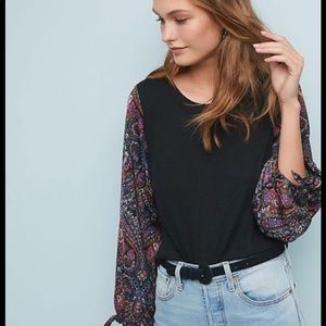 Anthropologie Maybelle top xs new 🌟🌟🌟